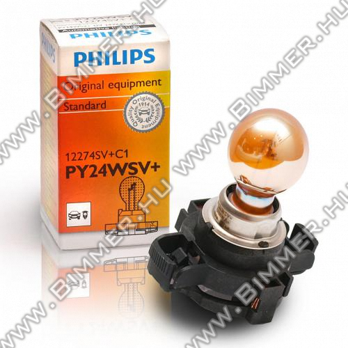 BMW Index izzó Philips SilverVision PY24W